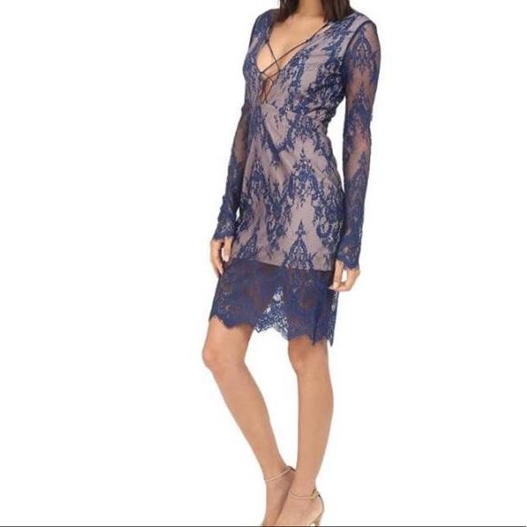 Stylestalker Dresses & Skirts - Blue lace dress